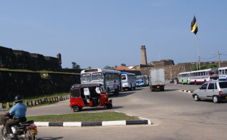 Galle-Fort-front